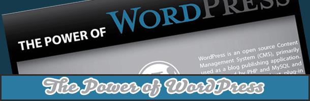 La puissance de WordPress
